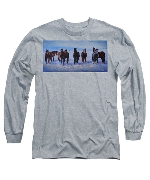 Patiently Waitling Long Sleeve T-Shirt