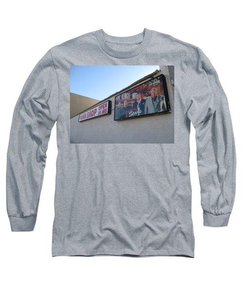 Pawn Stars Long Sleeve T-Shirt by Kay Novy