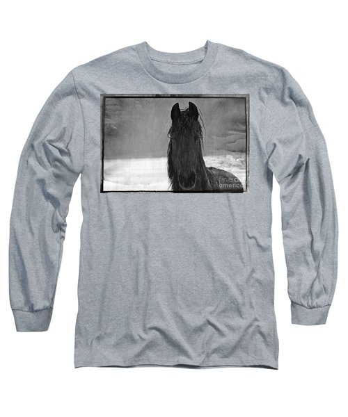 Peace In The Storm Long Sleeve T-Shirt by Michelle Twohig