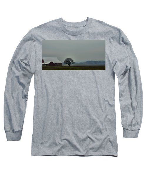 Peaceful Country Morning Long Sleeve T-Shirt