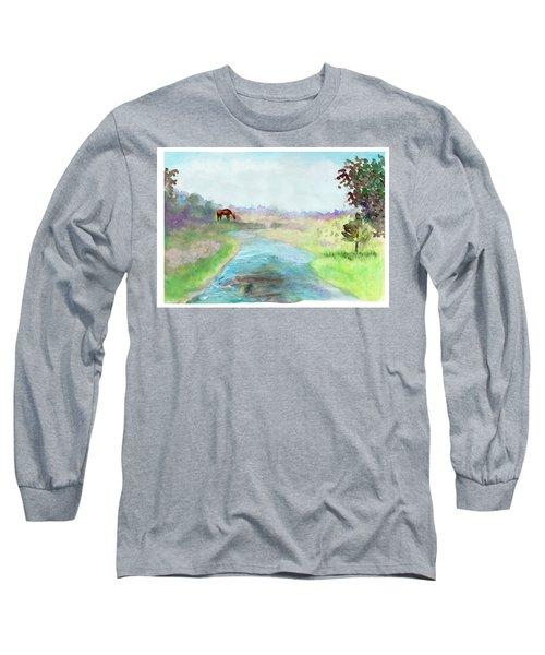 Peaceful Day Long Sleeve T-Shirt