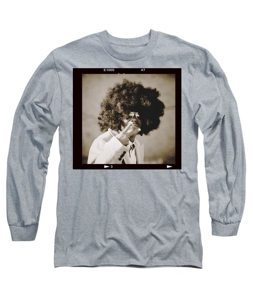 Long Sleeve T-Shirt featuring the photograph Peaceman by Alice Gipson