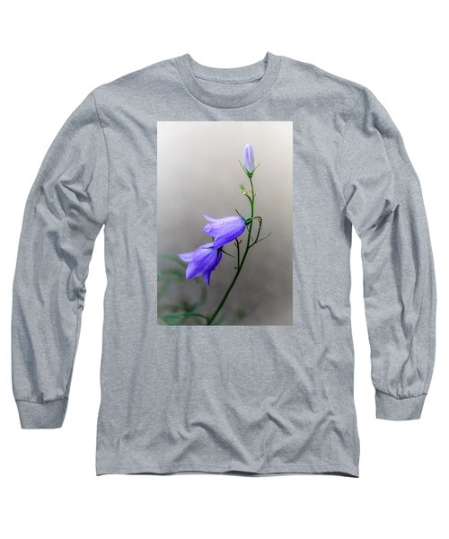 Blue Bells Peeking Through The Mist Long Sleeve T-Shirt