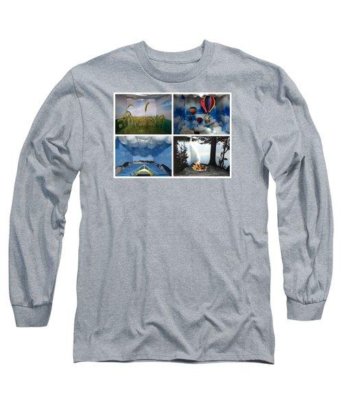 Peepholes Long Sleeve T-Shirt