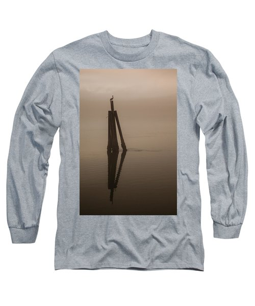 Pelican On A Stick Long Sleeve T-Shirt
