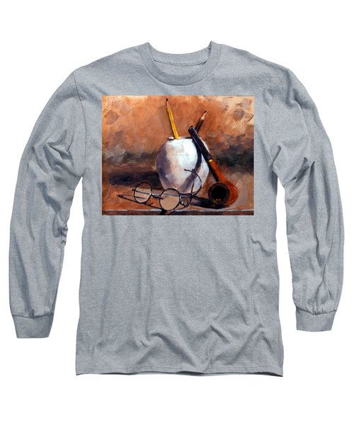 Pencils And Pipe Long Sleeve T-Shirt