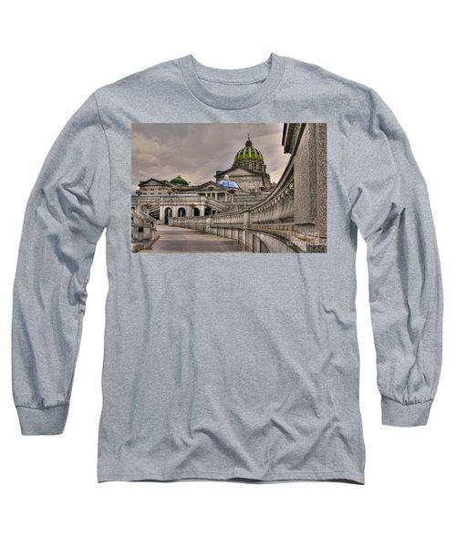 Pennsylvania State Capital Long Sleeve T-Shirt