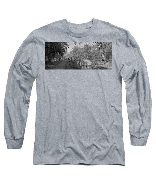 Pennyfield Lock Chesapeake And Ohio Canal Long Sleeve T-Shirt