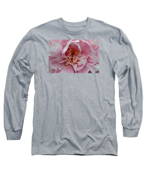 Peony Love Long Sleeve T-Shirt by Julie Andel