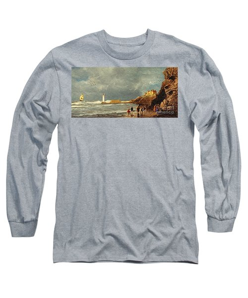Perch Rock - New Brighton 1829 Long Sleeve T-Shirt