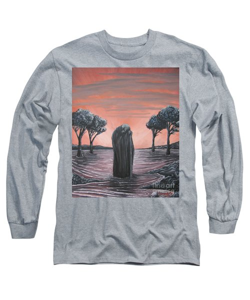 Perils Of Perdition Long Sleeve T-Shirt by Michael  TMAD Finney
