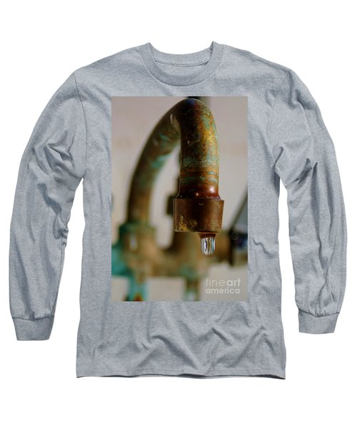 Perpetual Drip Long Sleeve T-Shirt by Patrick Shupert