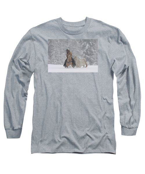 Persevere Through All Long Sleeve T-Shirt by Diane Bohna