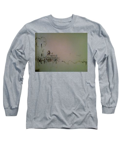 Perspective Long Sleeve T-Shirt by Mary Ellen Anderson