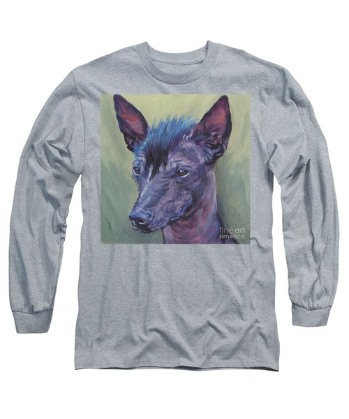 Peruvian Hairless Dog Long Sleeve T-Shirt