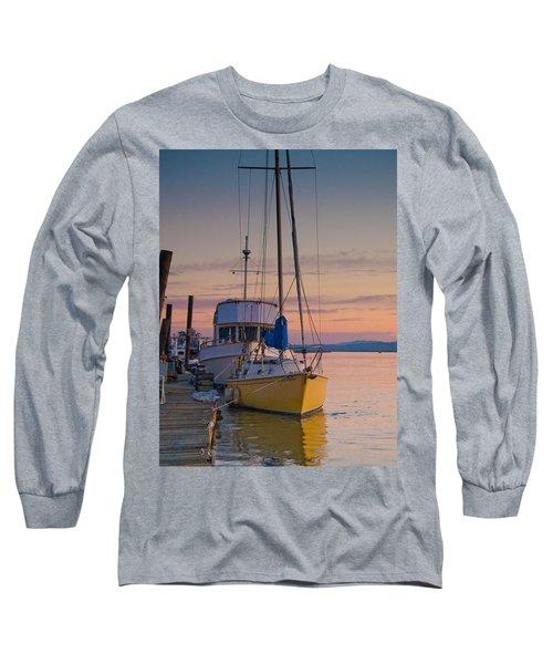 Petaluma River II Long Sleeve T-Shirt