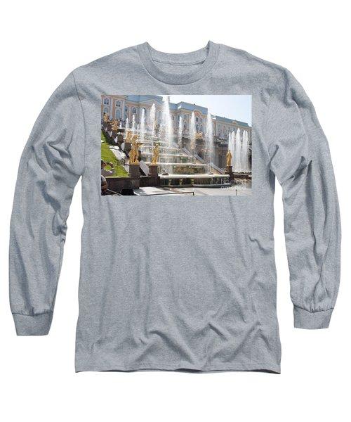 Peterhof Palace Fountains Long Sleeve T-Shirt