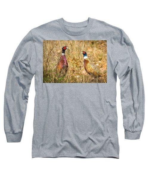 Pheasant Friends Long Sleeve T-Shirt