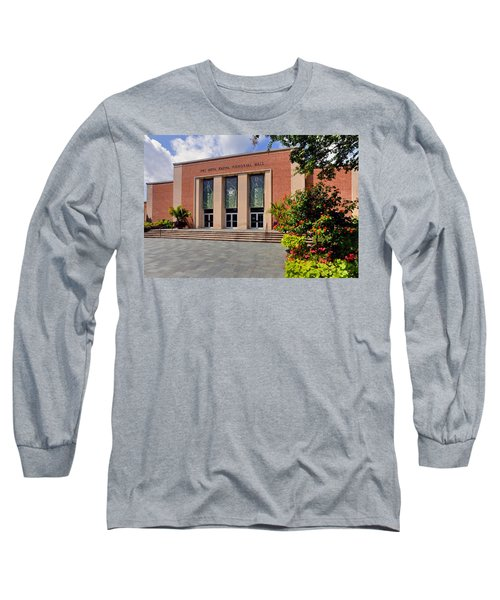 Phi Beta Kappa Hall Long Sleeve T-Shirt by Jerry Gammon