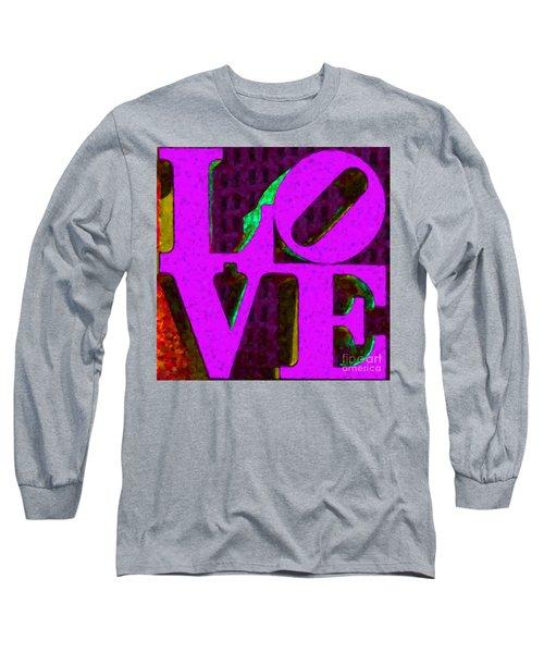 Philadelphia Love - Painterly V2 Long Sleeve T-Shirt