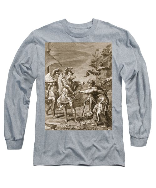 Phineus Is Delivered From The Harpies Long Sleeve T-Shirt
