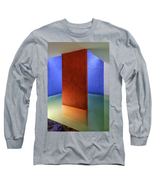 Physical Abstraction Long Sleeve T-Shirt by Lynn Palmer