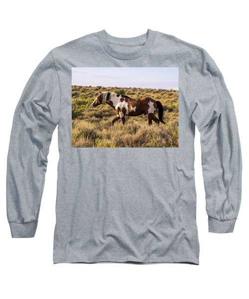 Picasso - King Of Sand Wash Basin Long Sleeve T-Shirt