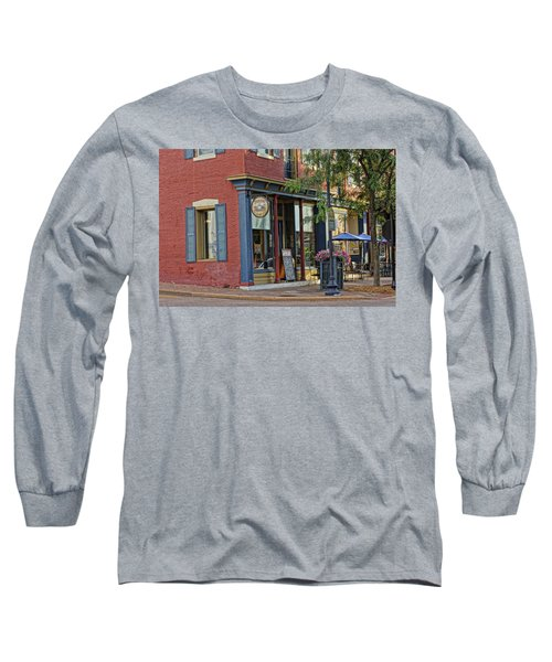 Picasso's N Main St Charles Mo Dsc00900  Long Sleeve T-Shirt by Greg Kluempers