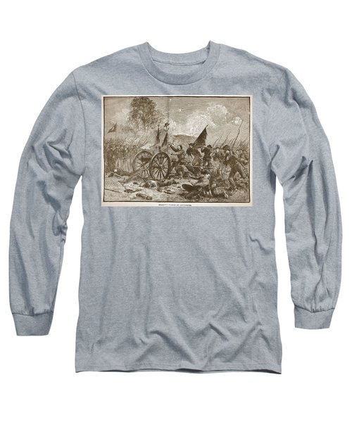 Picketts Charge At Gettysburg Long Sleeve T-Shirt