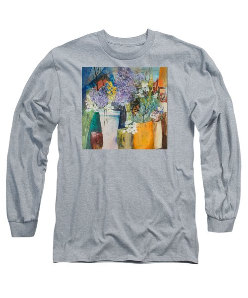 Picture Puzzle Long Sleeve T-Shirt by Lee Beuther