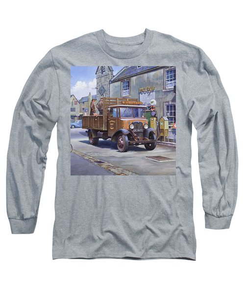 Piggy Goes To Market Long Sleeve T-Shirt by Mike  Jeffries