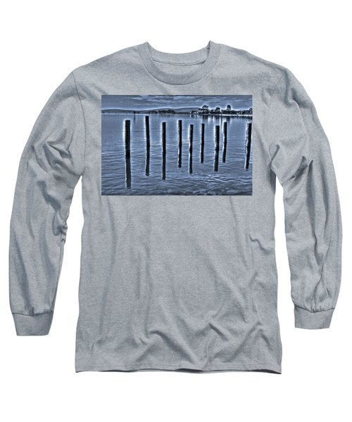 pillars on the Bay Long Sleeve T-Shirt