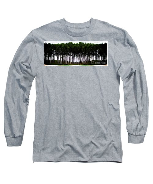 Pine Forest Long Sleeve T-Shirt by Marcia Lee Jones
