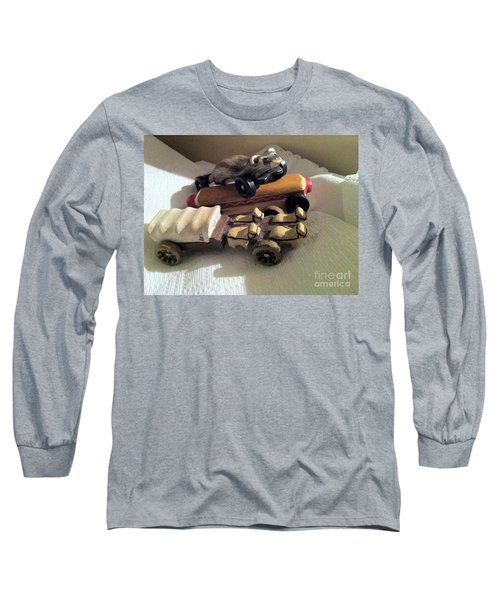 Pinewood Derby Art Long Sleeve T-Shirt