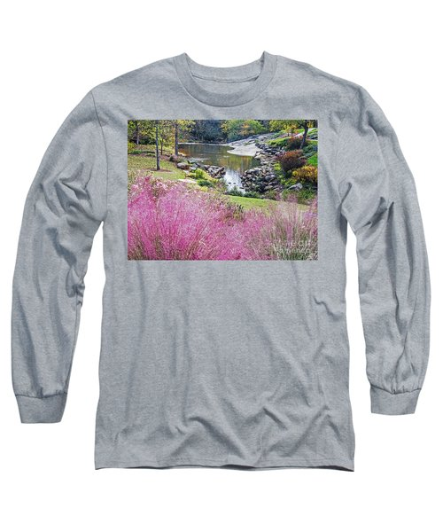 Pink Fall Long Sleeve T-Shirt