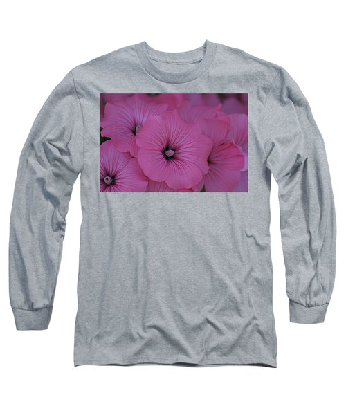 Pink Petunia Long Sleeve T-Shirt