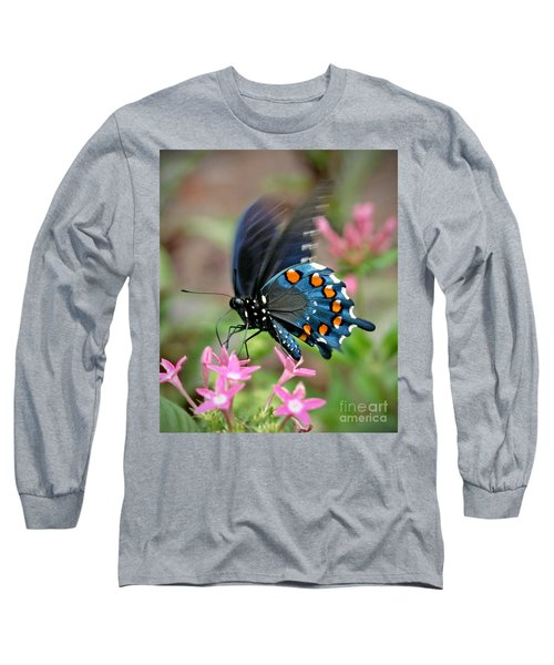 Pipevine Swallowtail Long Sleeve T-Shirt