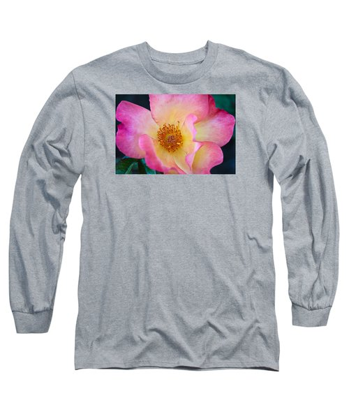 Long Sleeve T-Shirt featuring the photograph Playboy by Julie Andel