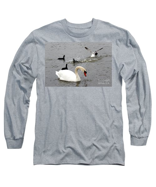 Playful Fun On The Lake Long Sleeve T-Shirt