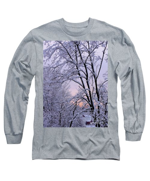 Playhouse Through Snow Long Sleeve T-Shirt
