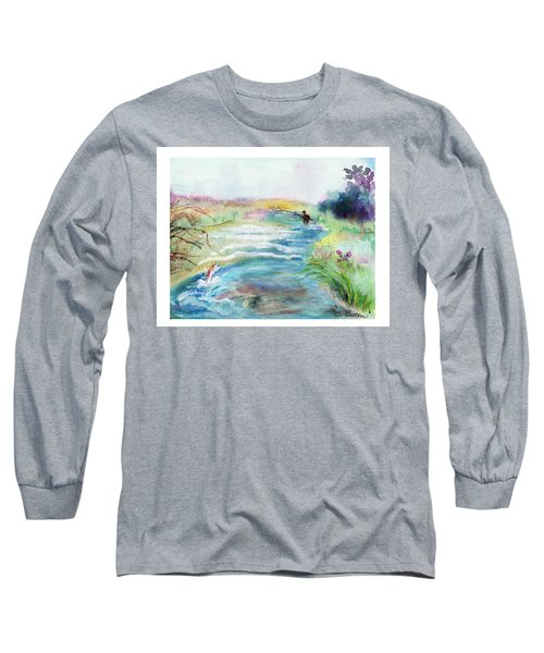 Playin' Hooky Long Sleeve T-Shirt by C Sitton