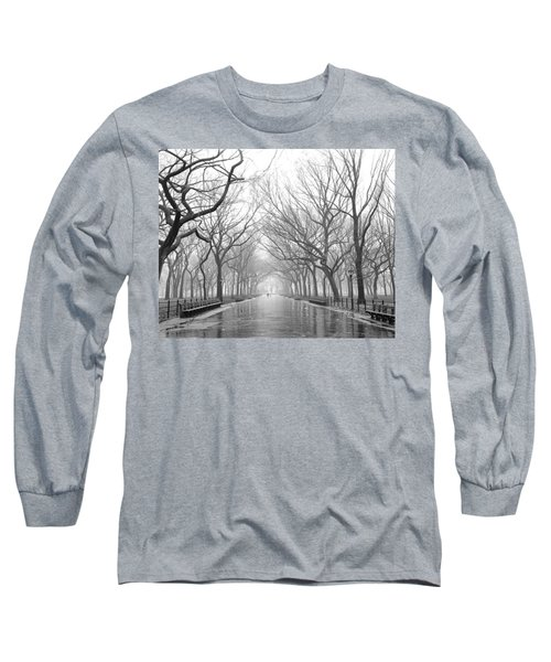 New York City - Poets Walk Central Park Long Sleeve T-Shirt