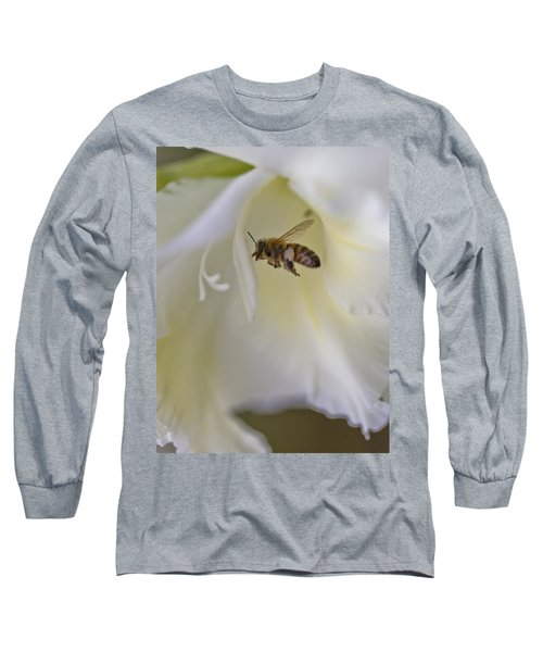 Pollen Carrier Bee Long Sleeve T-Shirt by Maj Seda