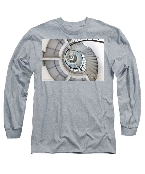 Ponce De Leon Inlet Lighthouse Staircase Long Sleeve T-Shirt