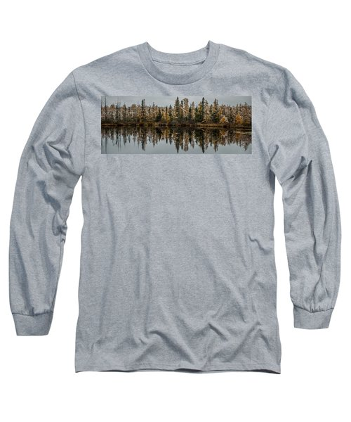 Pond Reflections Long Sleeve T-Shirt