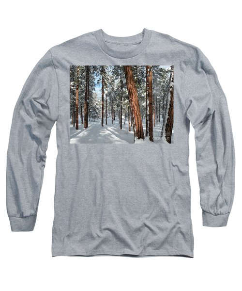 Ponderosa Winter Long Sleeve T-Shirt