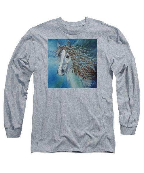 Pony Long Sleeve T-Shirt by Jenny Lee
