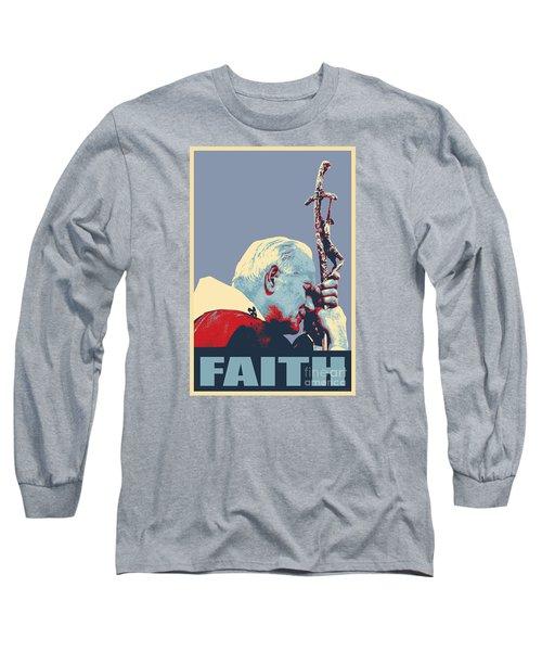 Pope John Paul II Long Sleeve T-Shirt