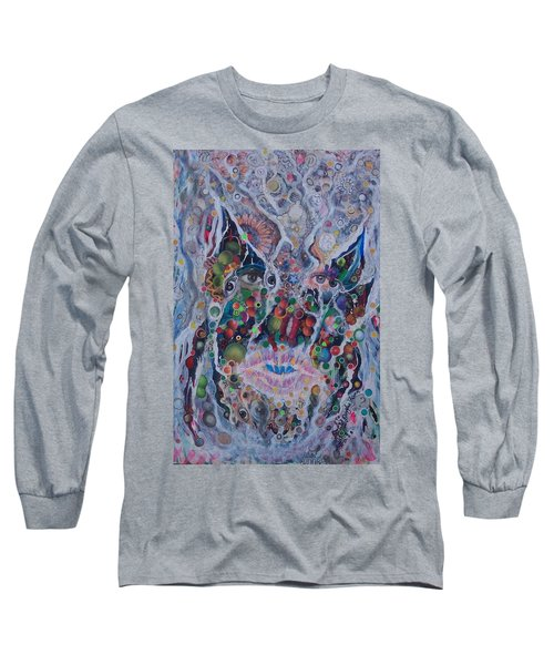 Portrait Of Art Brutus Long Sleeve T-Shirt by Douglas Fromm