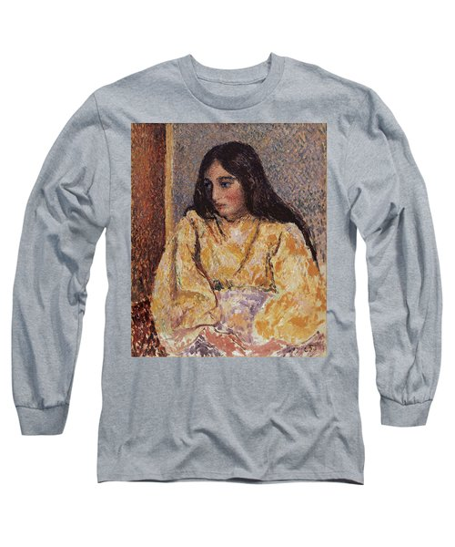 Portrait Of Jeanne, Circa 1893 Long Sleeve T-Shirt